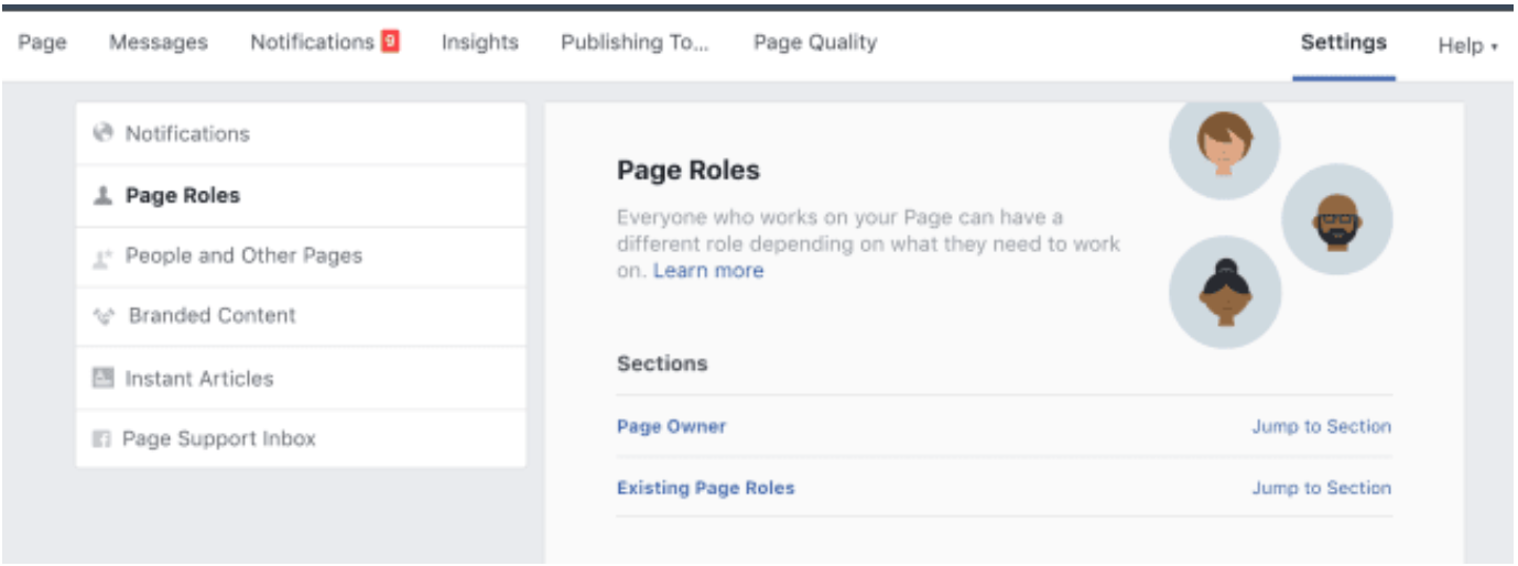 Page Roles